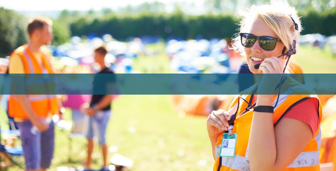 Festival Stewarding Systems